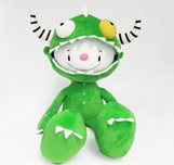 Fabio Napoleoni Animation & Super Hero Art Handmade DragonBoy Plush